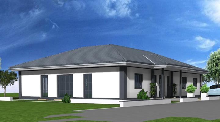 Bungalow - Individuell geplant & massiv gebaut: ARTOS Planen und Bauen.