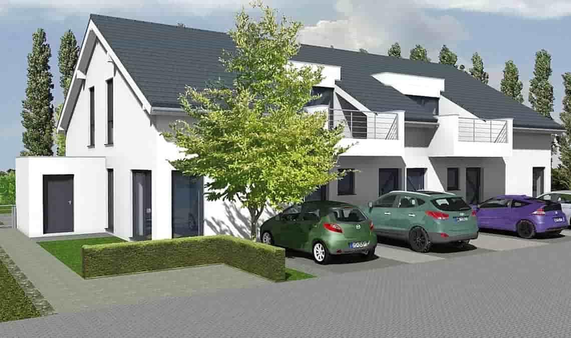 Zwei- und Mehrfamilienhäuser