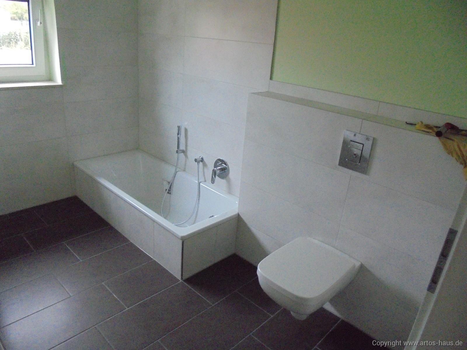 Bad im Zweifamilienhaus Bonn ARTOS HAUS