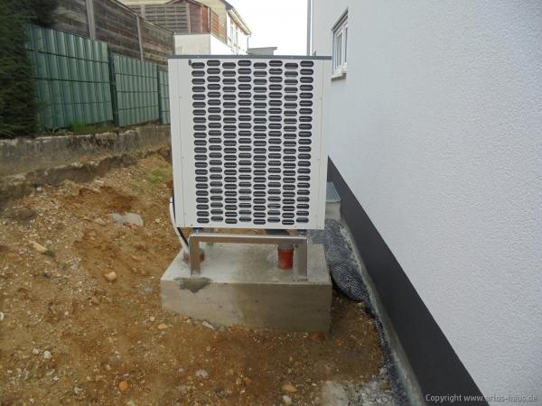 Artos-Haus / Einbau Wärmepumpe
