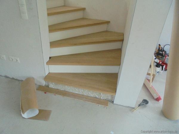 Artos-Haus / Einbau Treppe