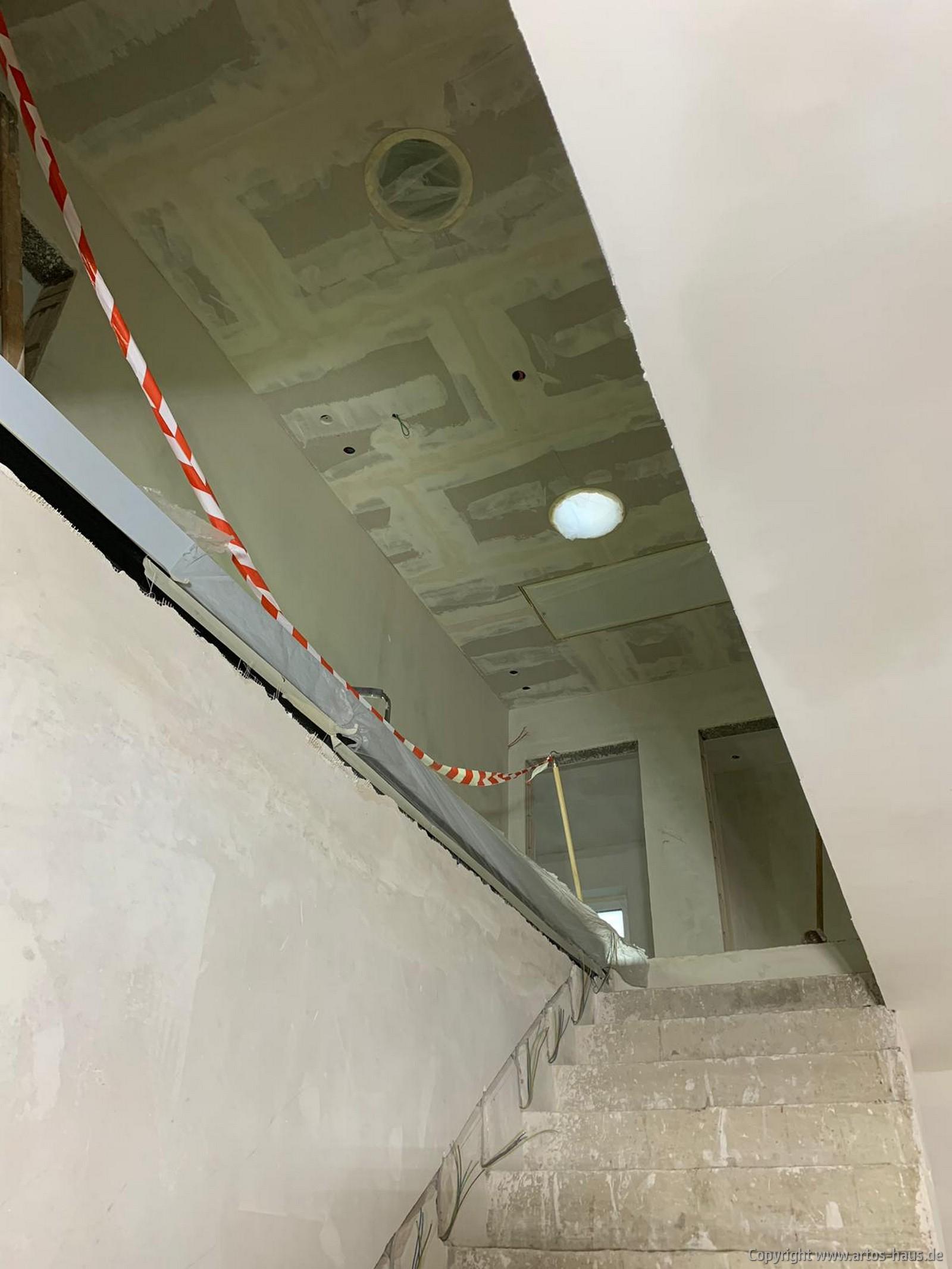 Innenputz ujnd Trockenbau fertiggestellt 8