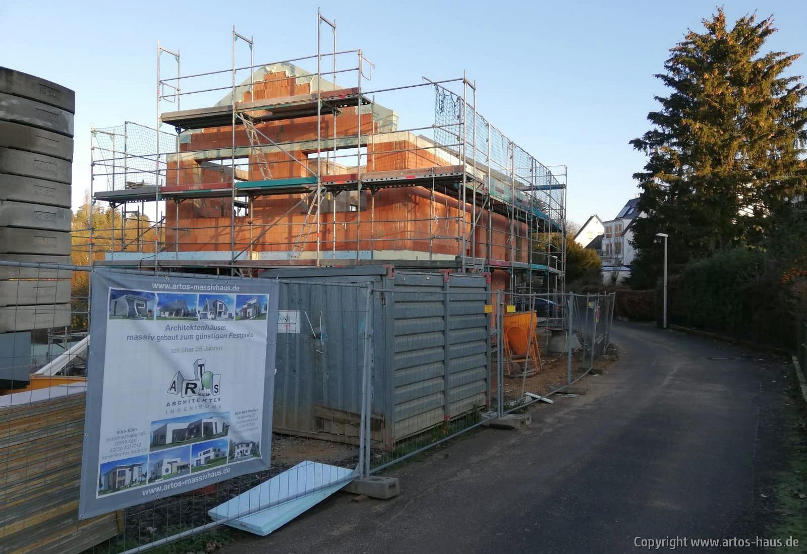 Mauerarbeiten BV ARTOS HAUS 8