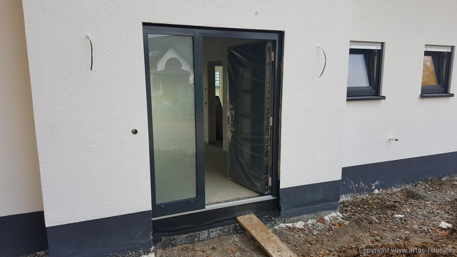 Einbau Haustüre | Artos Haus