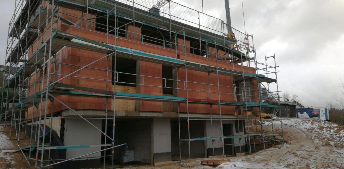 ARTOS BV Bonn - Dach fertiggestellt 2