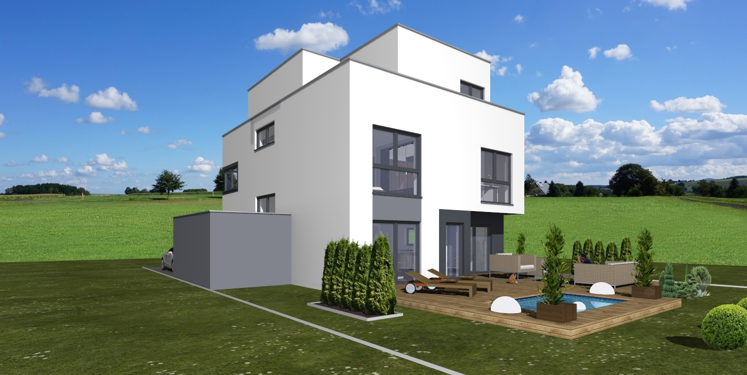 Artos-Haus Visualisierung 2