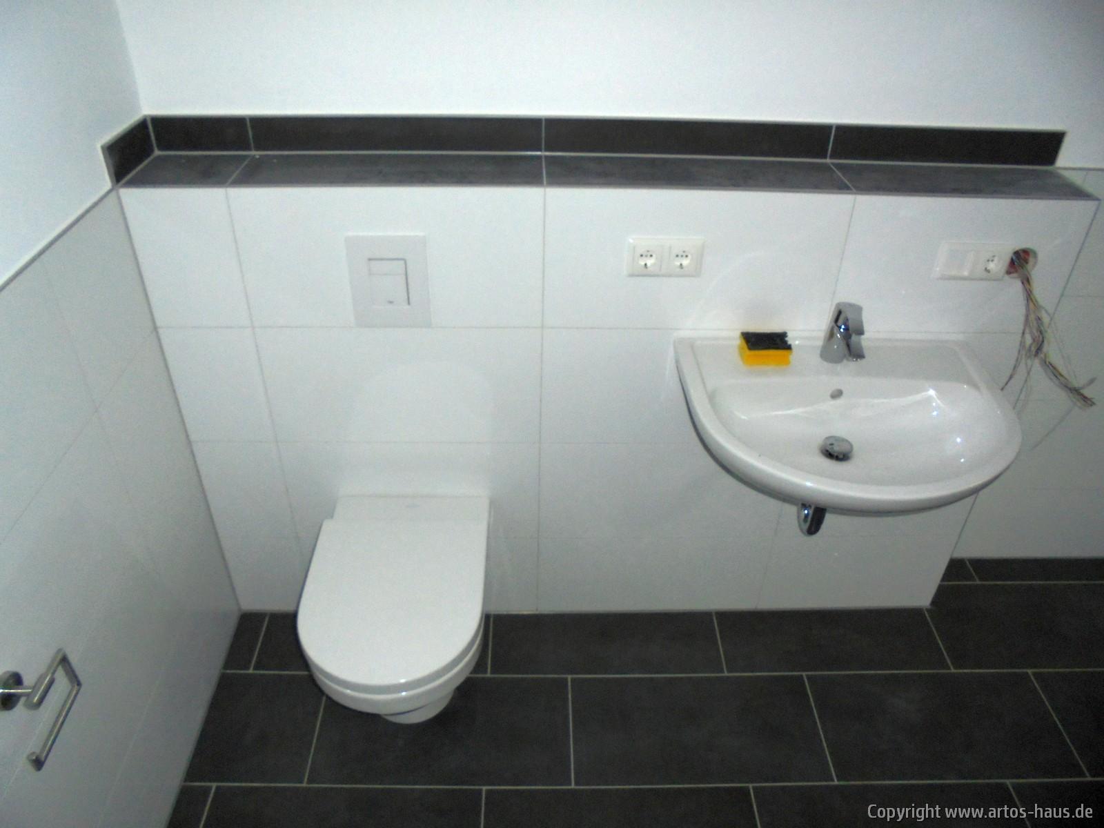 Sanitärmontage, ARTOS-HAUS Bild 2