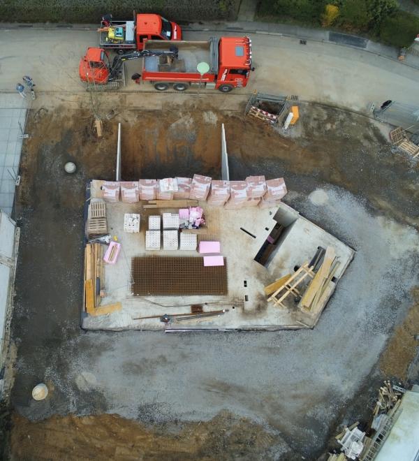 Luftbild 2 | ARTOS HAUS Baustelle Frechen