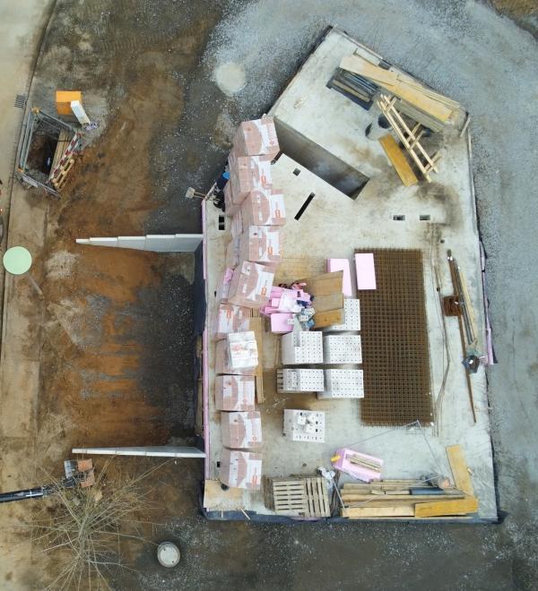 Luftbild 3 | ARTOS HAUS Baustelle Frechen