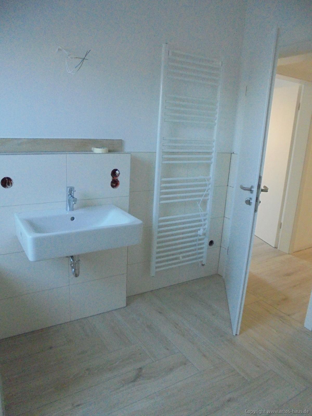 Fertiginstallation Sanitär Bild 5 / Artos Haus