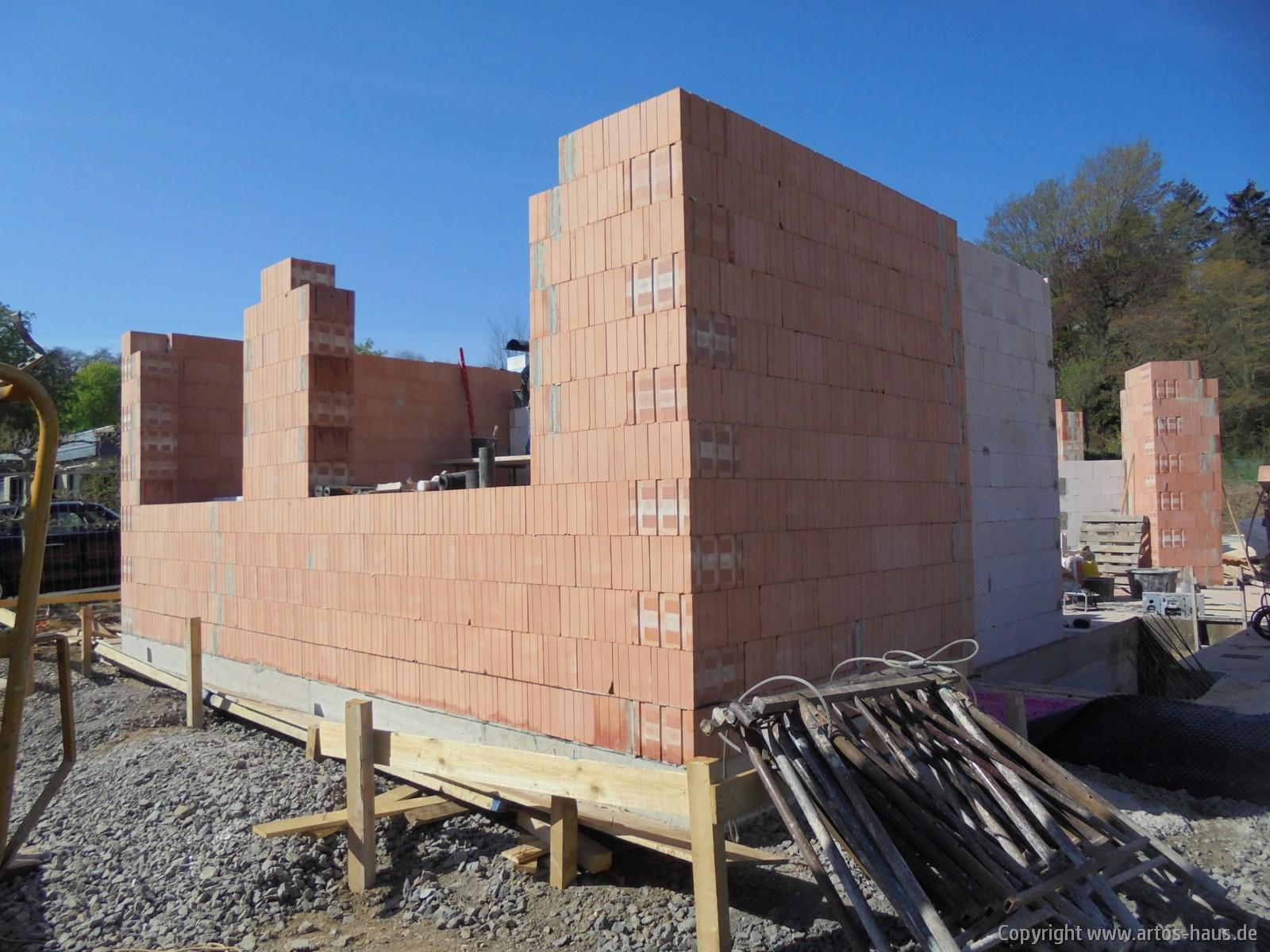 Mauerarbeiten EG 2