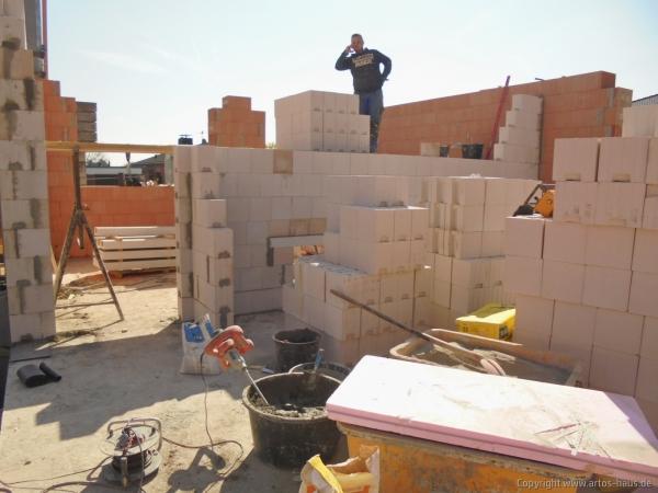 Mauerarbeiten EG 3