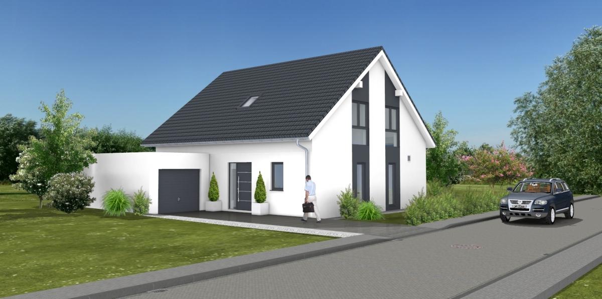Bauvorhaben ARTOS HAUS in Korschenbroich - Visualisierung 1