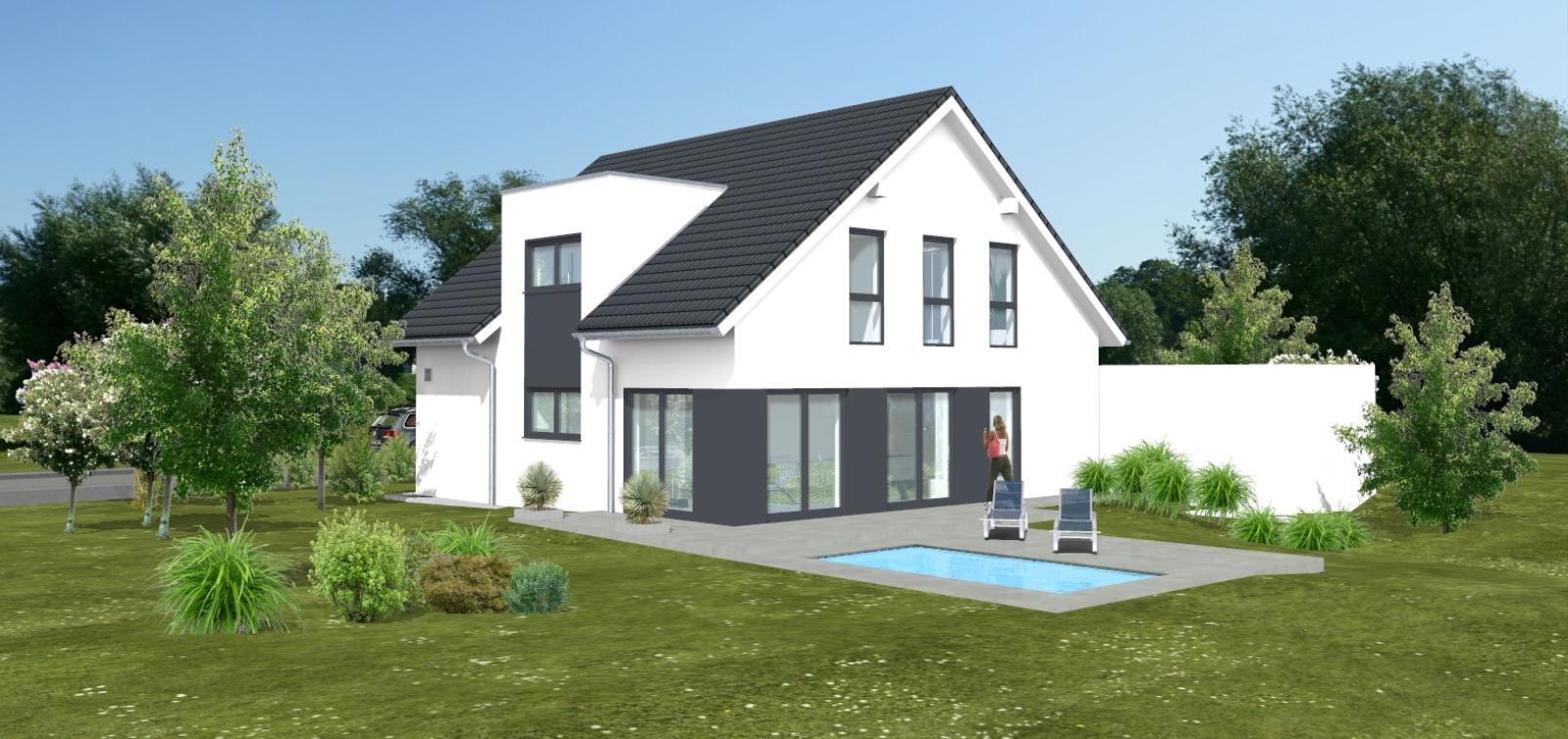 Bauvorhaben ARTOS HAUS in Korschenbroich - Visualisierung 2