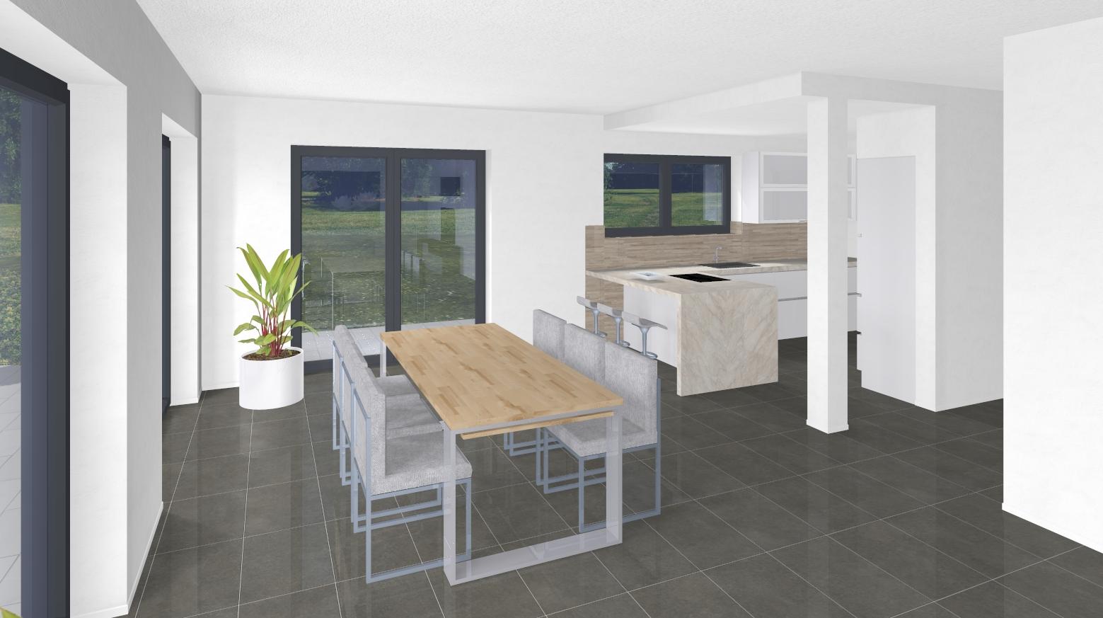 Bauvorhaben ARTOS HAUS in Korschenbroich - Visualisierung 3