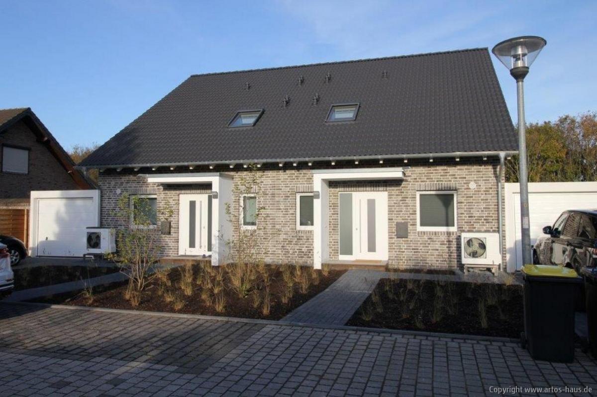 Artos Zweifamilienhaus nach der Fertigstellung