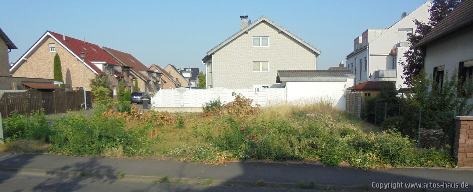 Absteckung Grundstück vor Erdarbeiten | ARTOS HAUS Bild 1