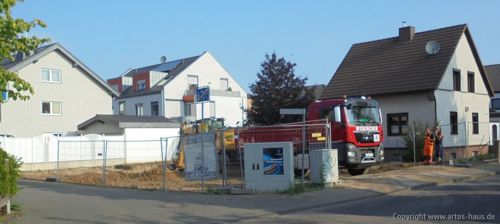 Erdarbeiten in Pulheim | ARTOS HAUS Bild 5