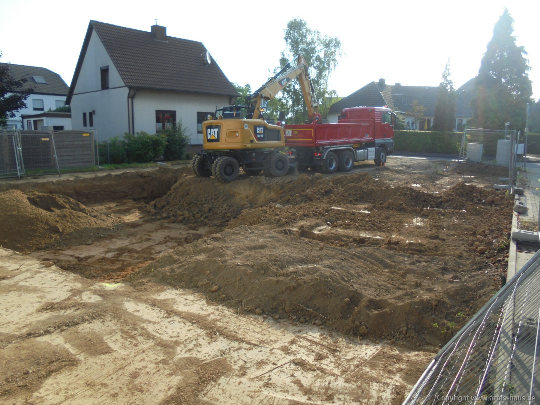 Erdarbeiten in Pulheim | ARTOS HAUS Bild 8