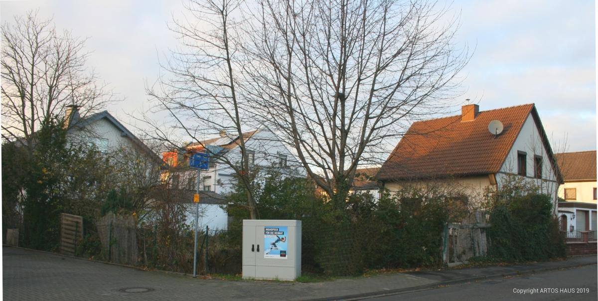 Grundstück Mehrfamilienhaus Pulheim vor Baubeginn