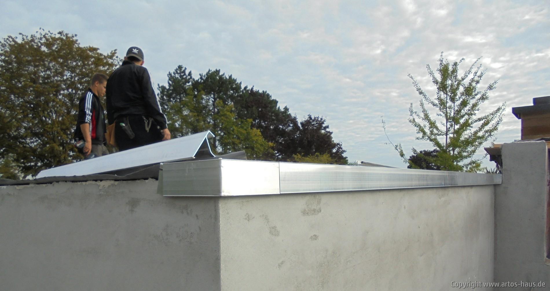 Dachabschluß T-Profil - ARTOS HAUS Bild 1
