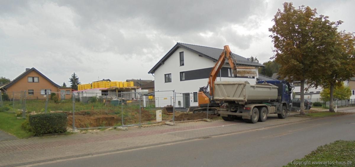 Ausschachtung ARTOS Bauvorhaben Euskirchen Bild 1