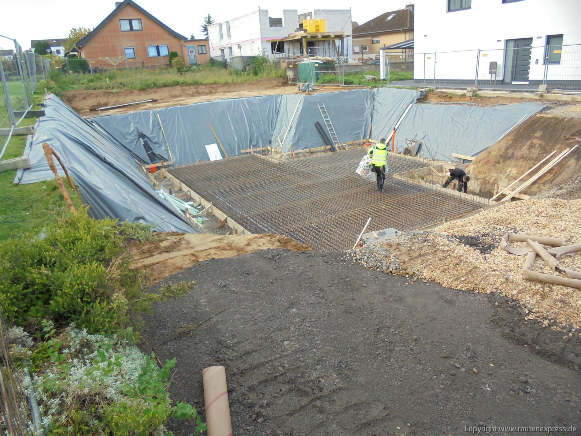Vorbereitung für die Bodenplatte | www.artos-haus.de Bild 2