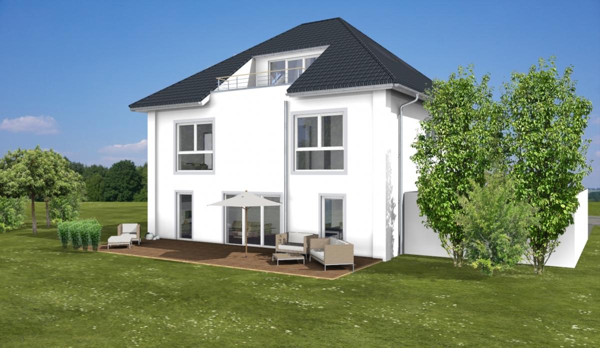 ARTOS HAUS Stadtvilla in Bonn - 3D Visualisierung 5