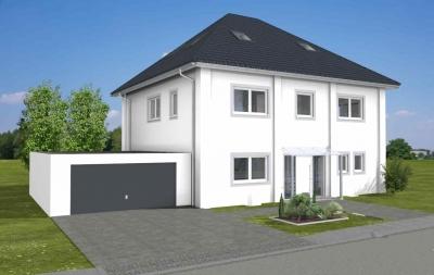 Visualisierung ARTOS HAUS Massivbau Stadtvilla in Bonn