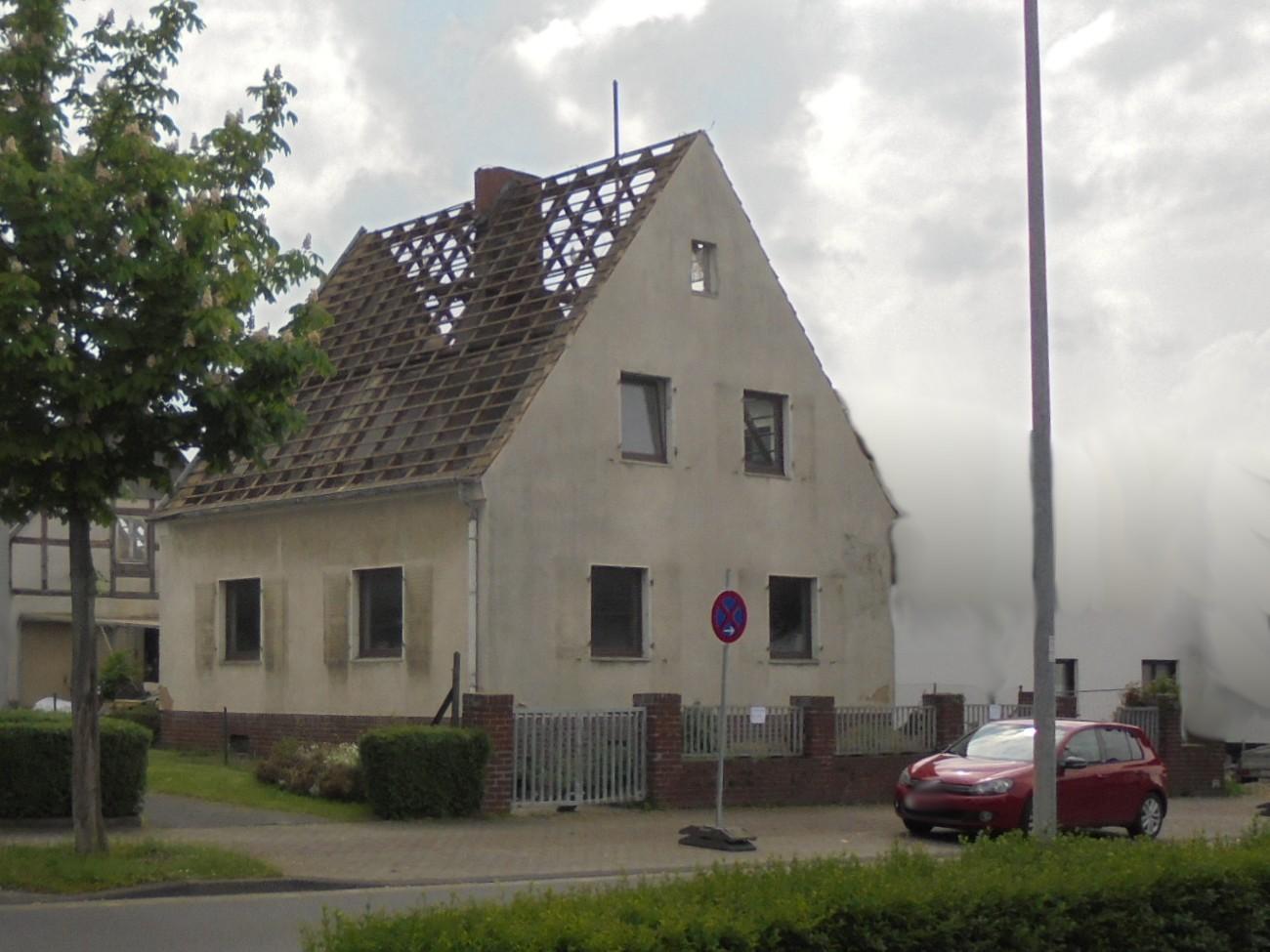 Abriss Altbestand BV Euskirchen
