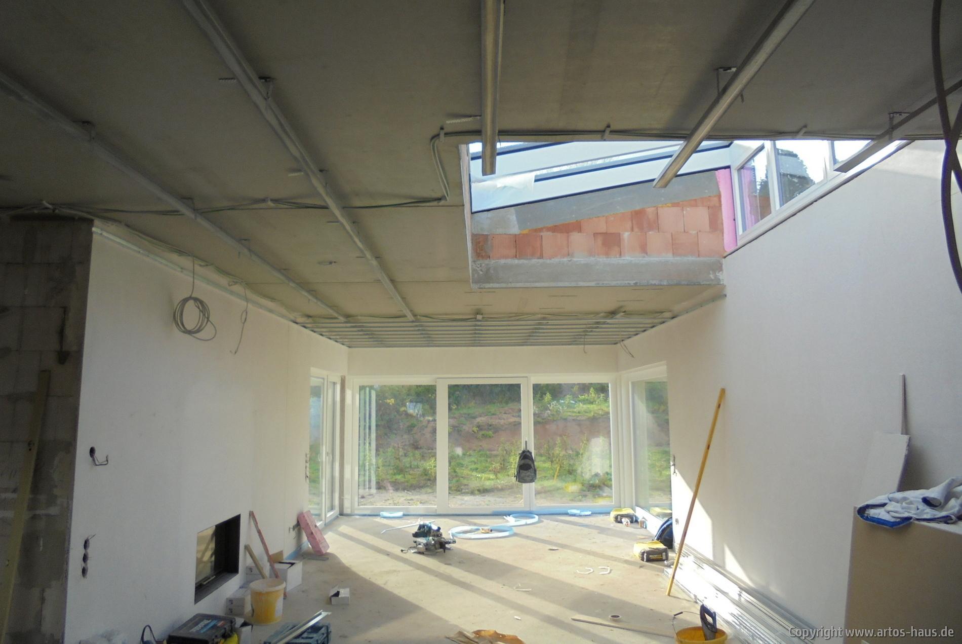Abhangdecke | ARTOS-HAUS Bauvorhaben, Bild 1