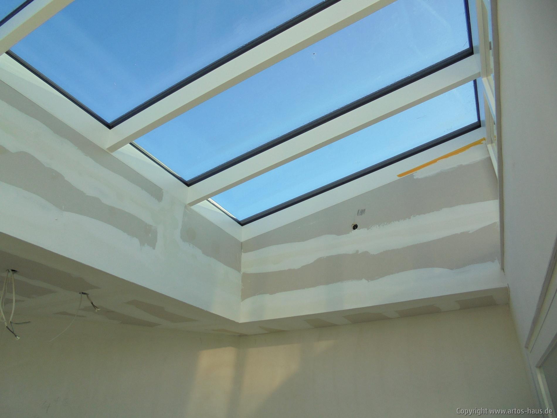 Verkleidung der Flachdachfenster | Bauvorhaben ARTOS HAUS | Bild 1