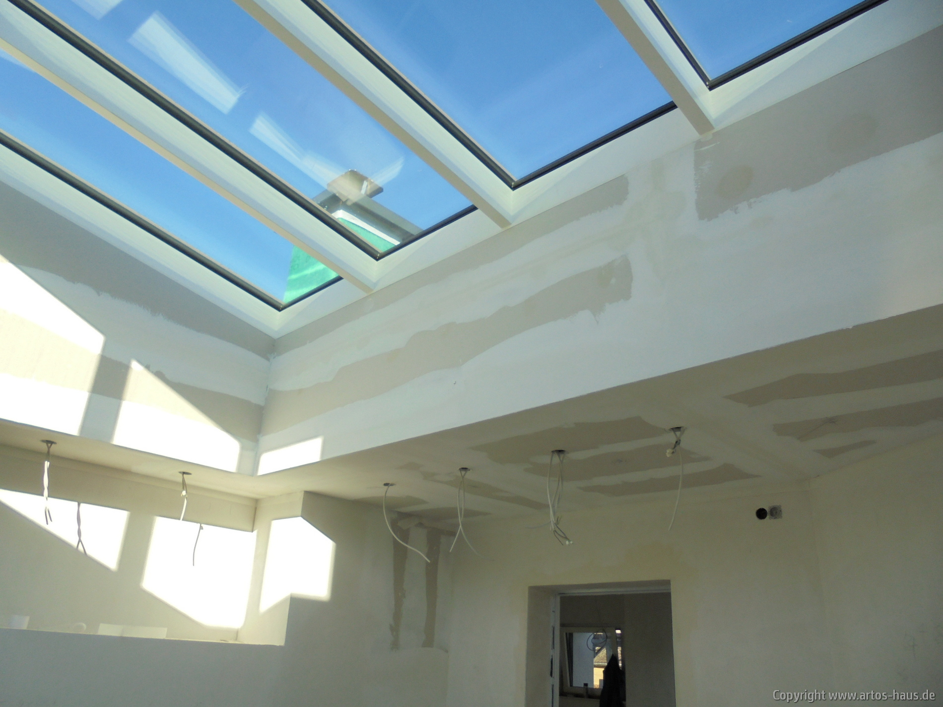 Verkleidung der Flachdachfenster | Bauvorhaben ARTOS HAUS | Bild 2