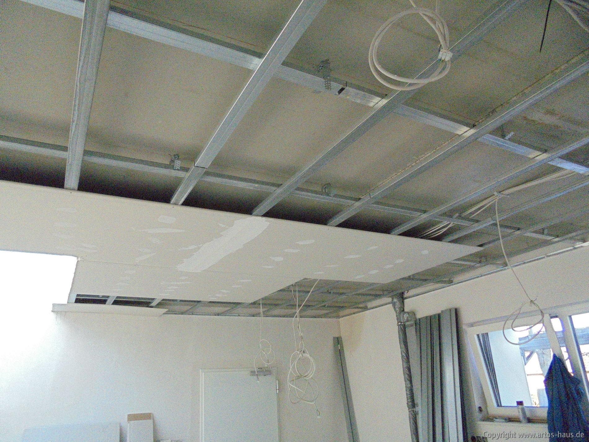 Abhangdecke | ARTOS-HAUS Bauvorhaben, Bild 2