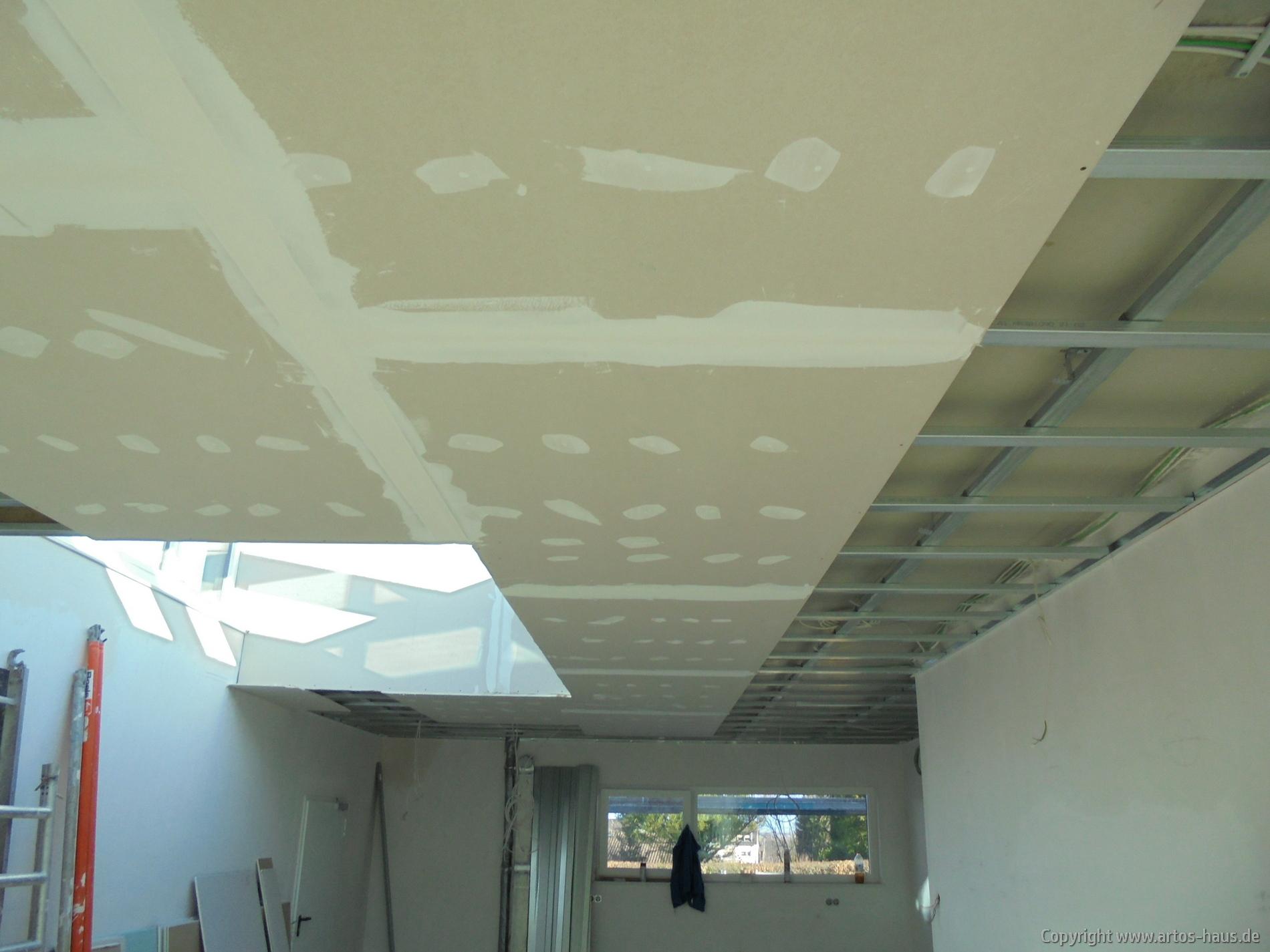 Abhangdecke | ARTOS-HAUS Bauvorhaben, Bild 3