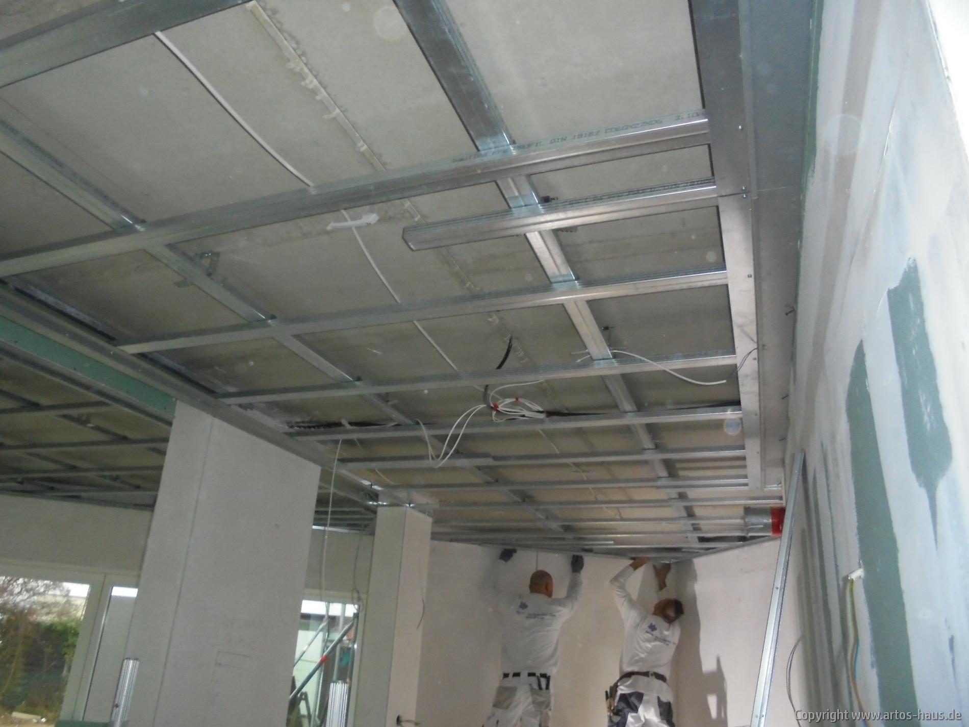 Abhangdecke | ARTOS-HAUS Bauvorhaben, Bild 4