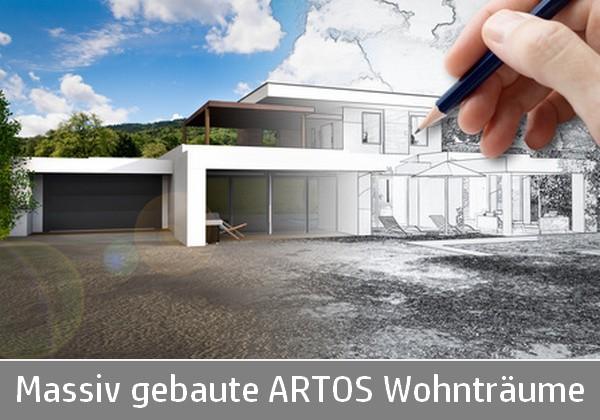 Massiv gebaute ARTOS Wohnträume