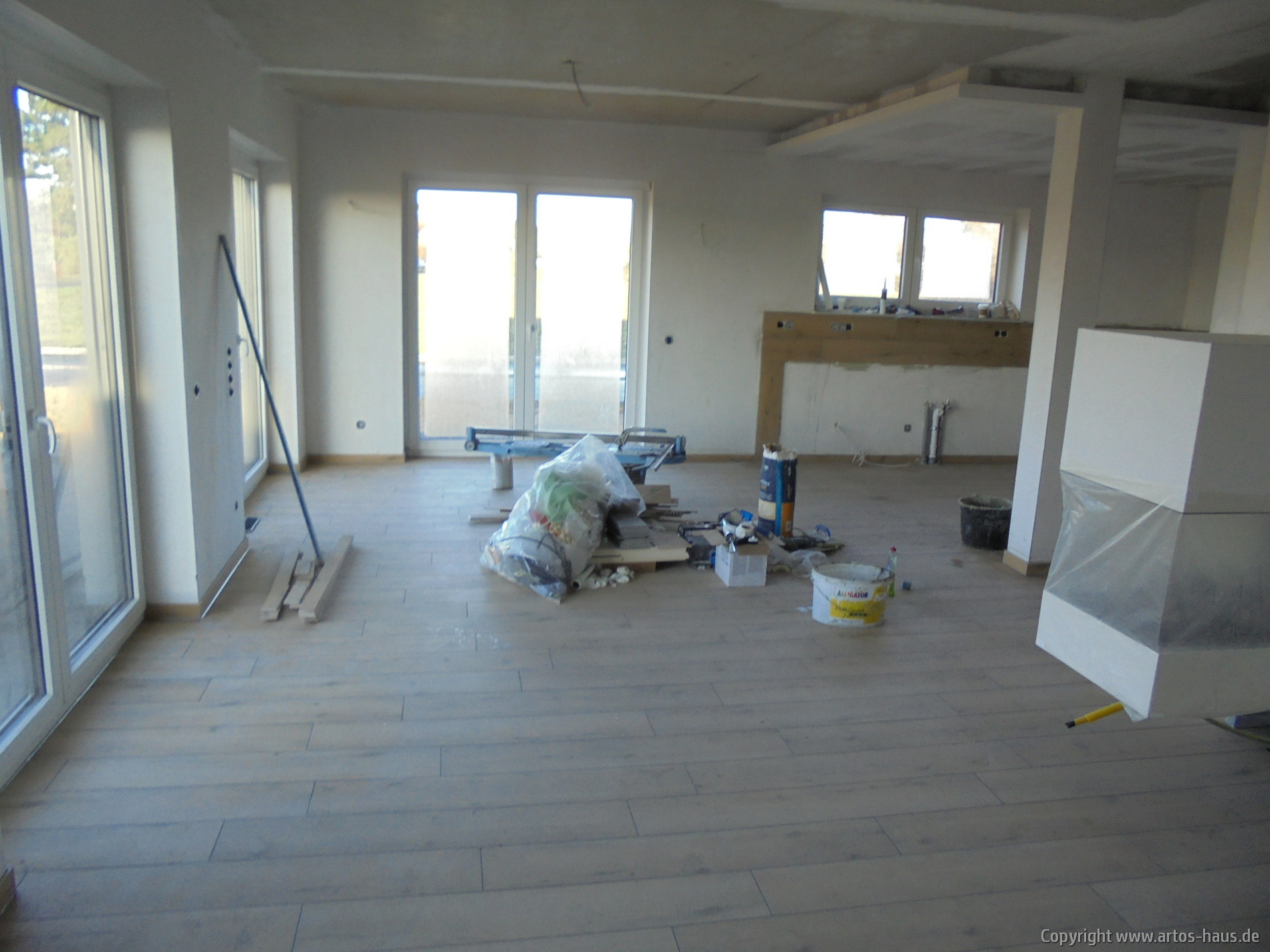 Fliesenarbeiten | Bauvorhaben www.artos-haus.de | Bild 2