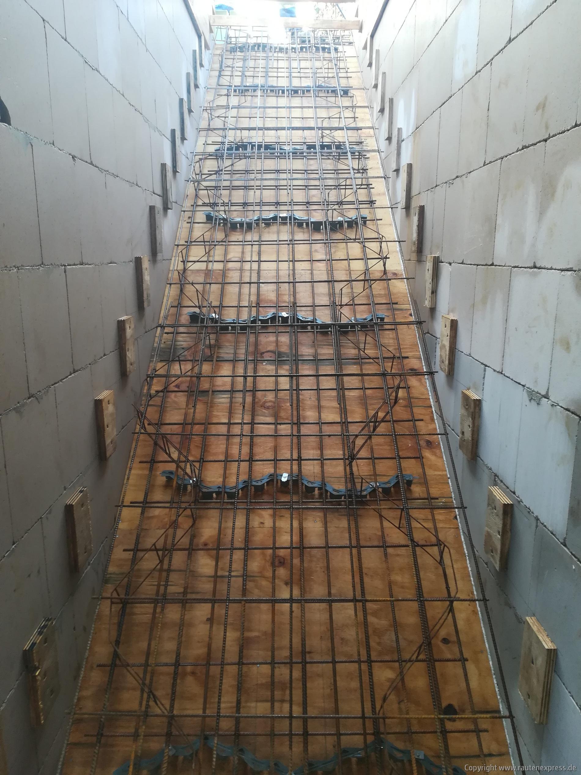 Treppenbewehrung