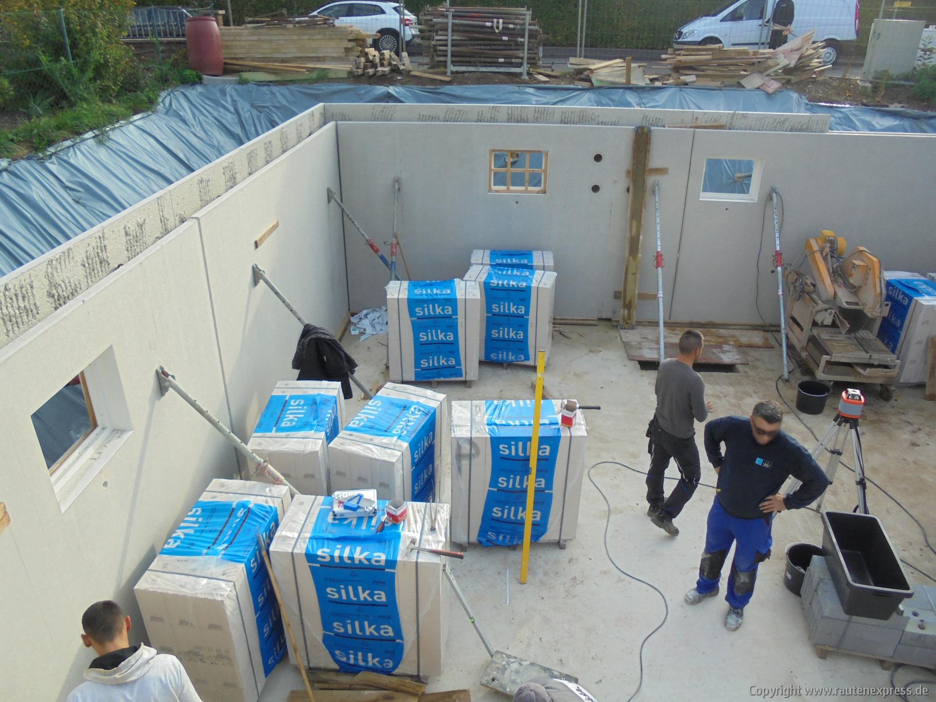 Kellerinnwände ARTOS Bauvorhaben in Pulheim | Bild 1