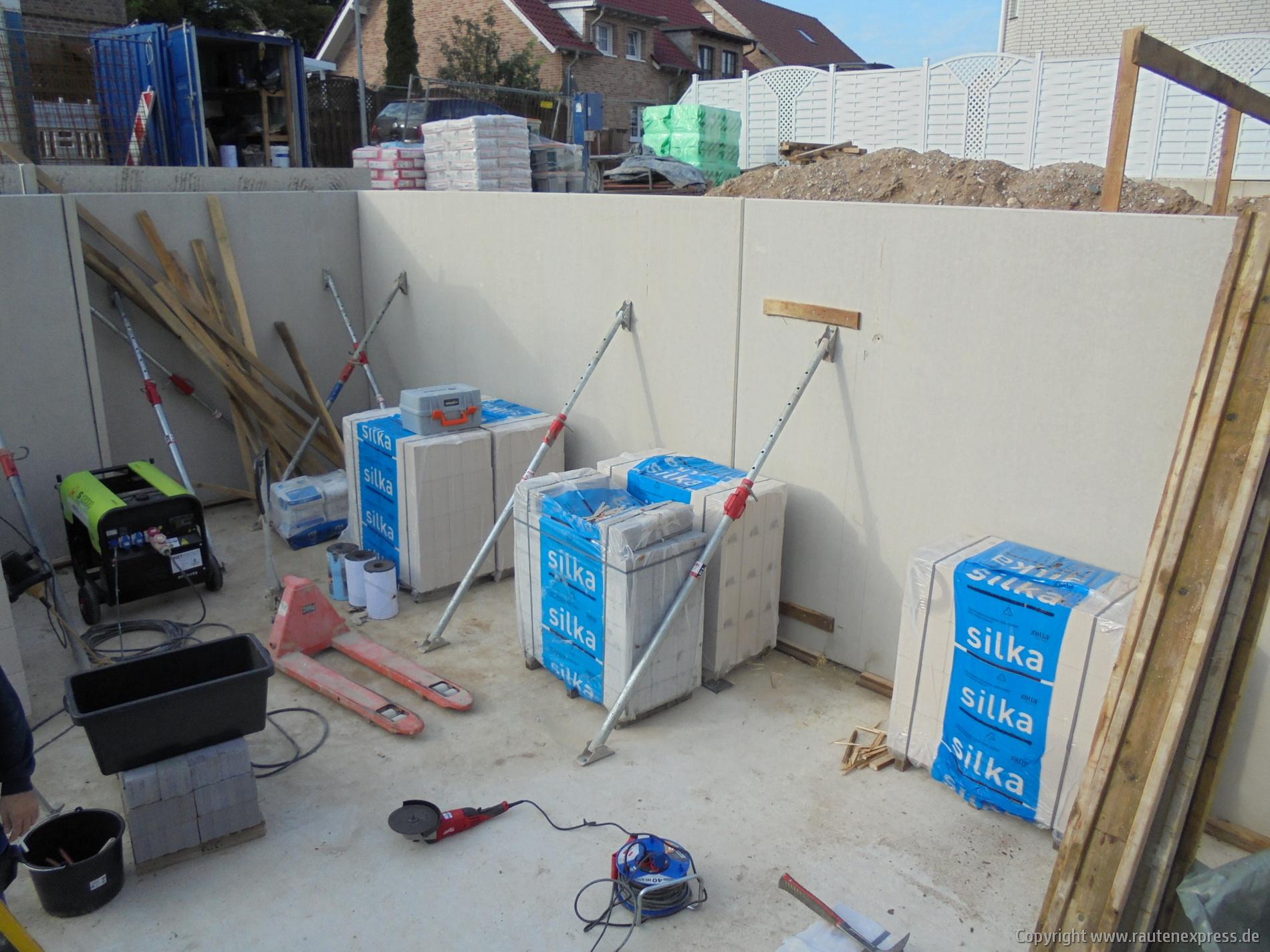 Kellerinnwände ARTOS Bauvorhaben in Pulheim | Bild 2