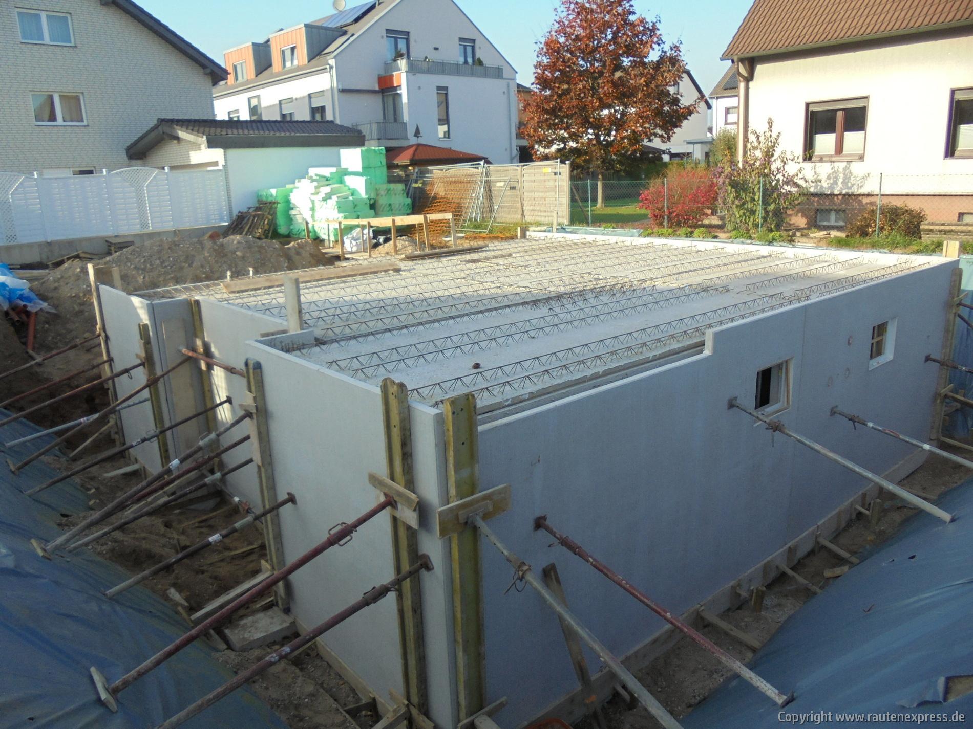 Kellerdecke ARTOS Bauvorhaben in Pulheim | Bild