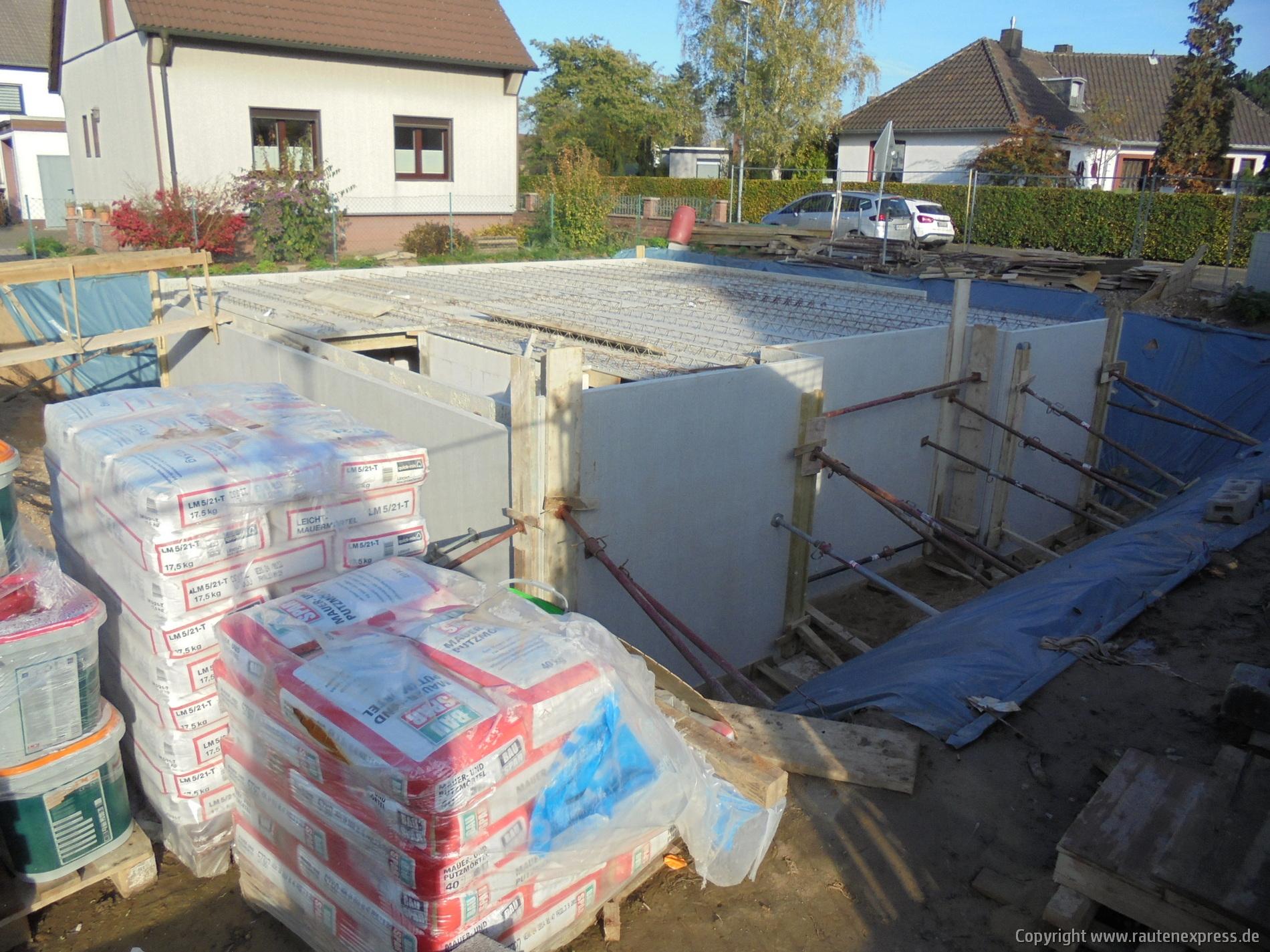 Kellerdecke ARTOS Bauvorhaben in Pulheim | Bild 2