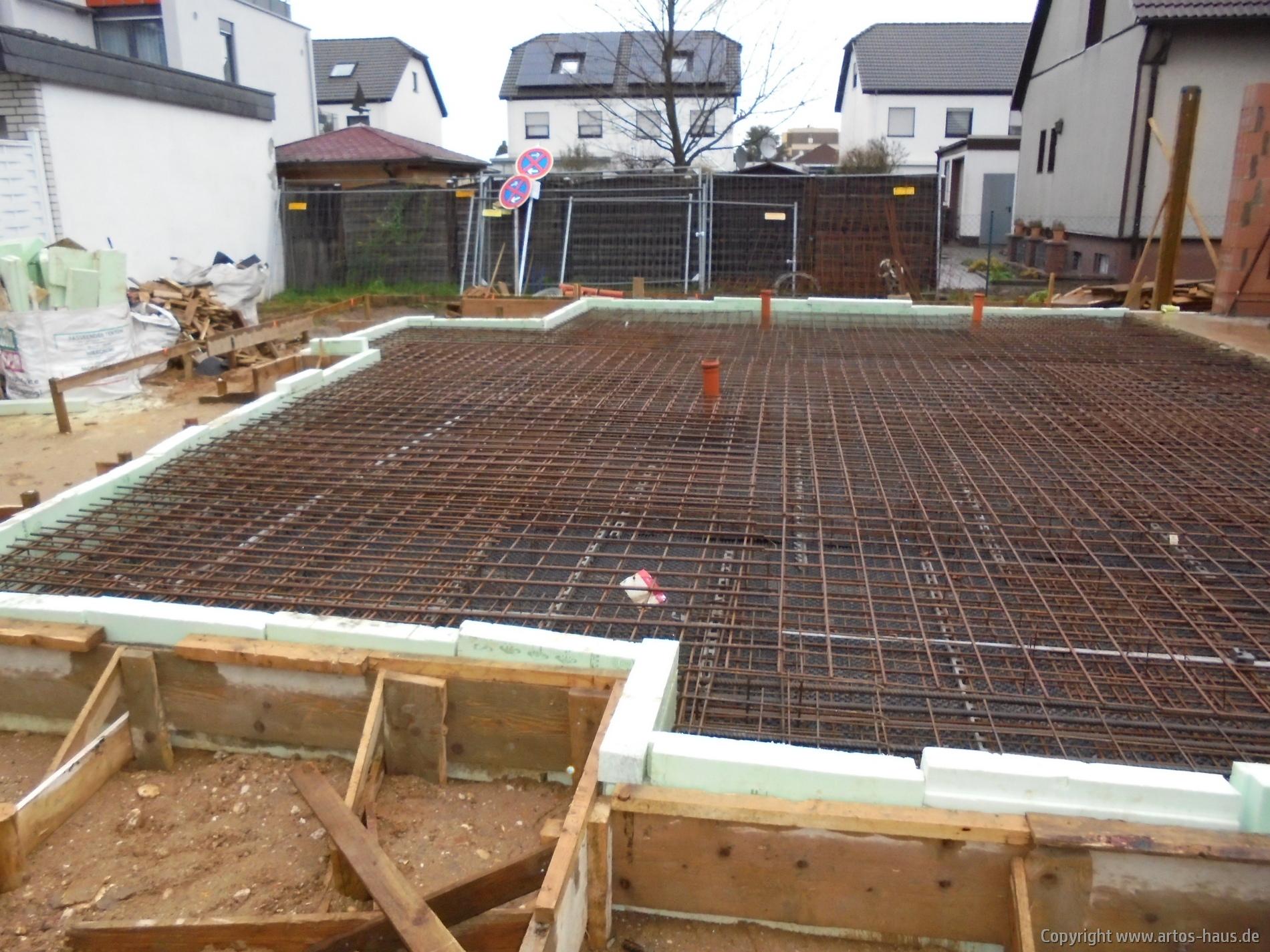 Vorbereitungen Bodenplatte | Bild 1
