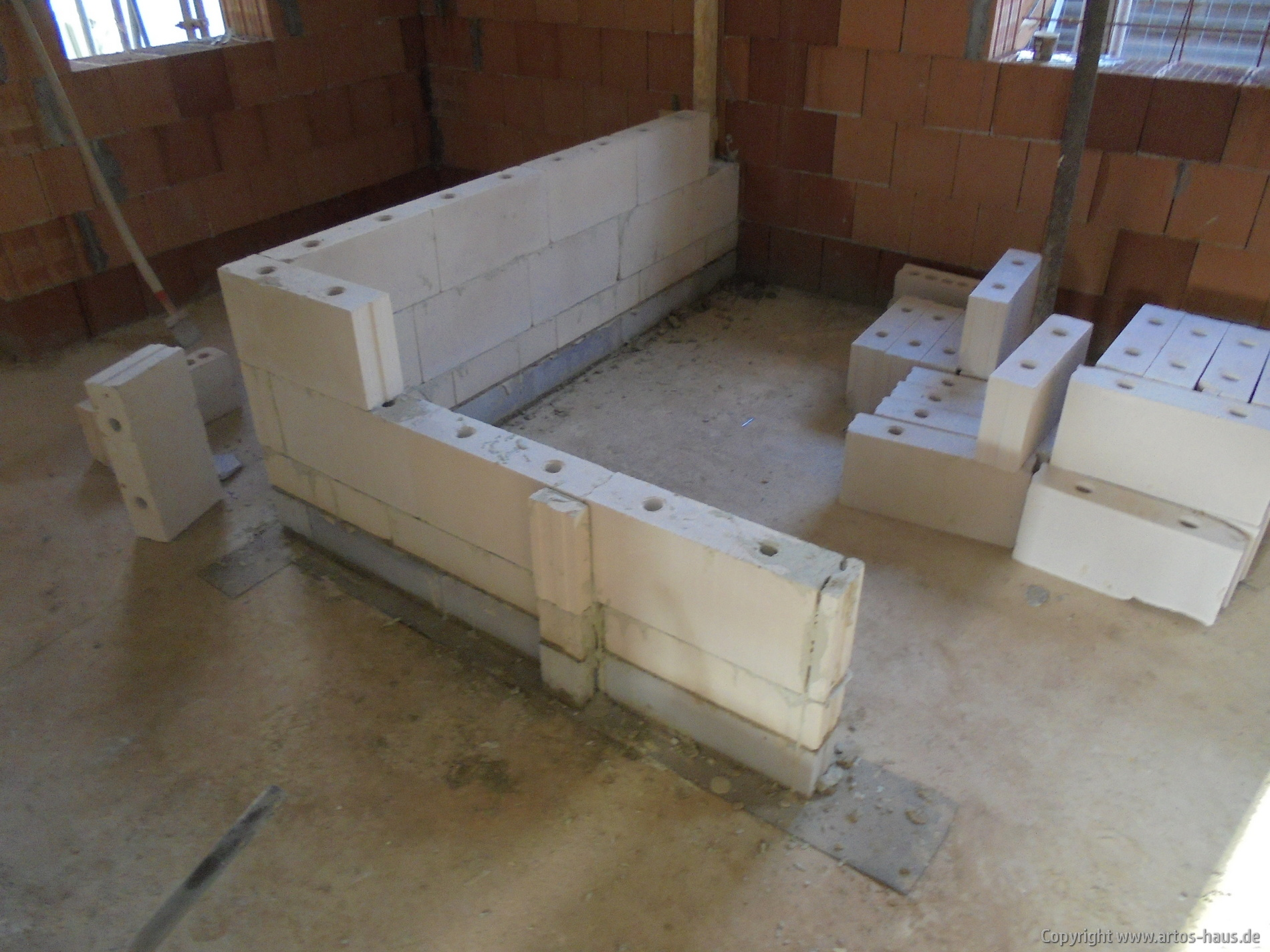 Mauern Innenwände EG / Bild 2