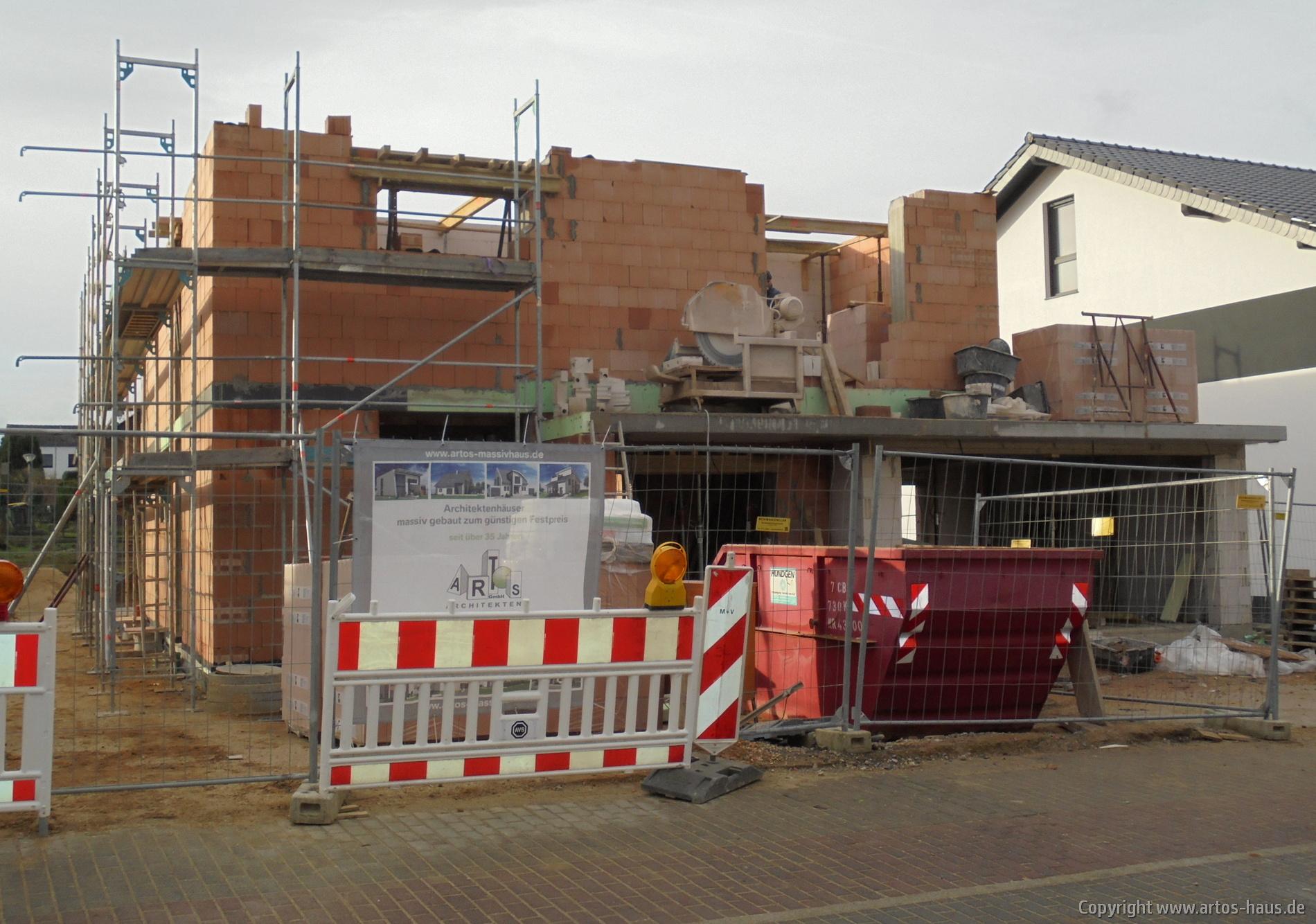 BV Artos-Haus Euskirchen Rohbau 1