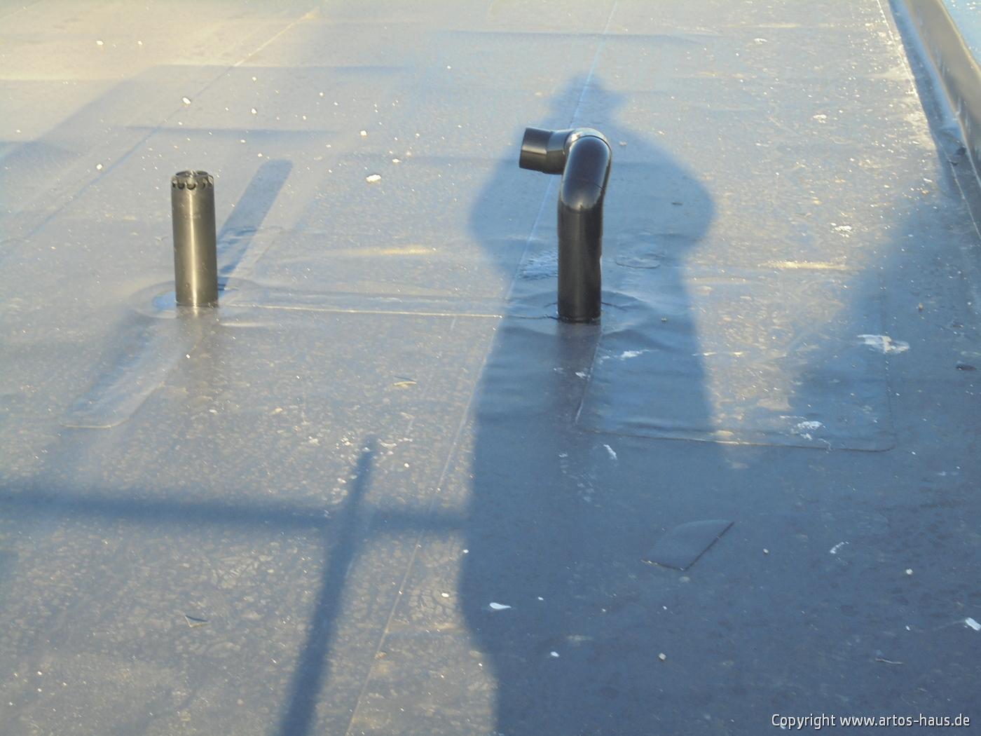 Flachdacharbeiten, ARTOS-HAUS Bild 5