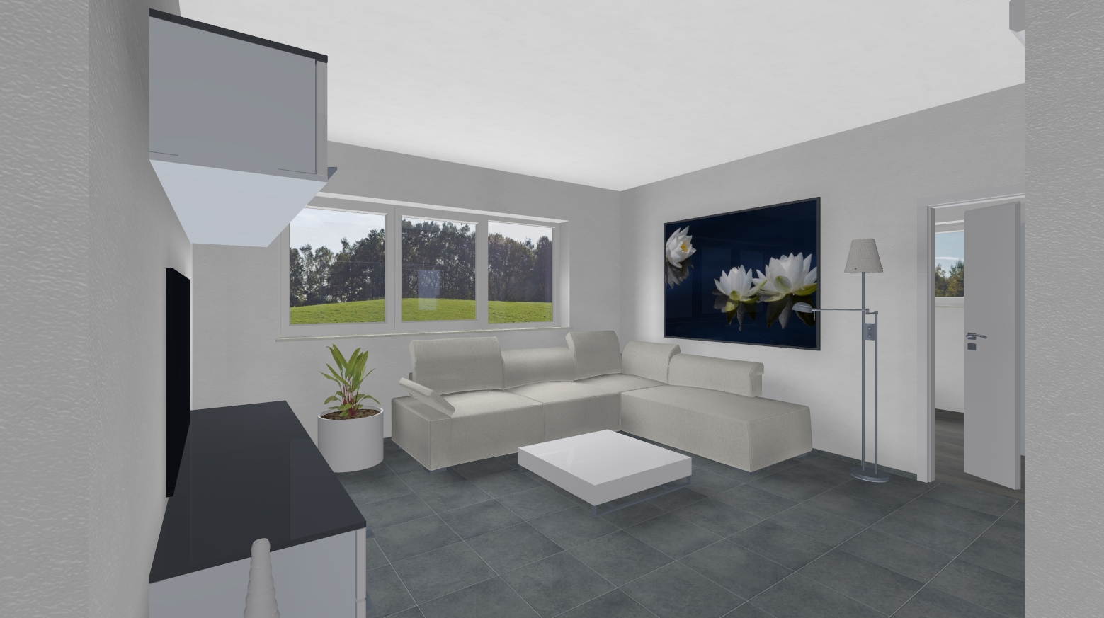 3 D Visualisierung | Bauvorhaben artos-haus.de Bild 2