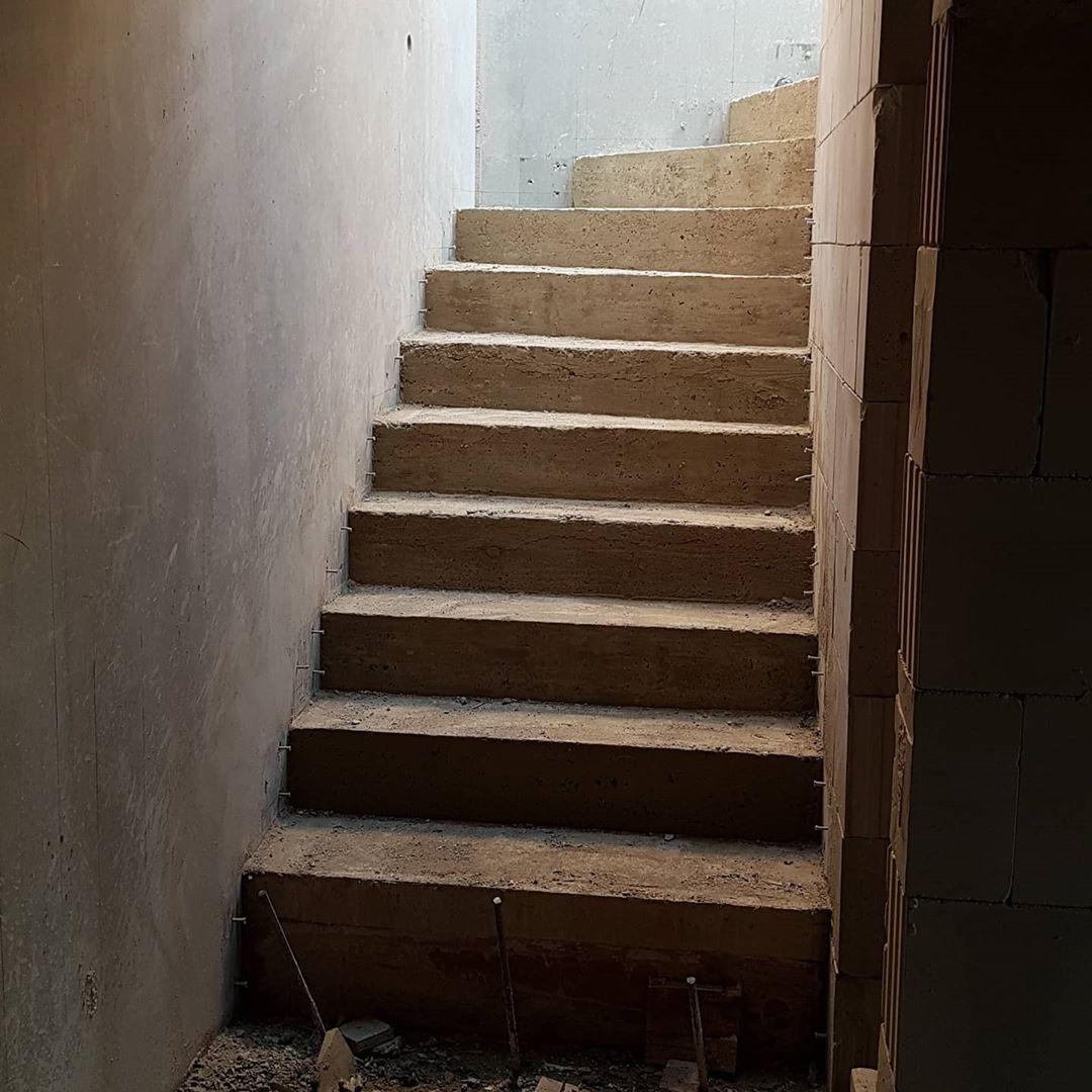 Treppe ausgeschalt