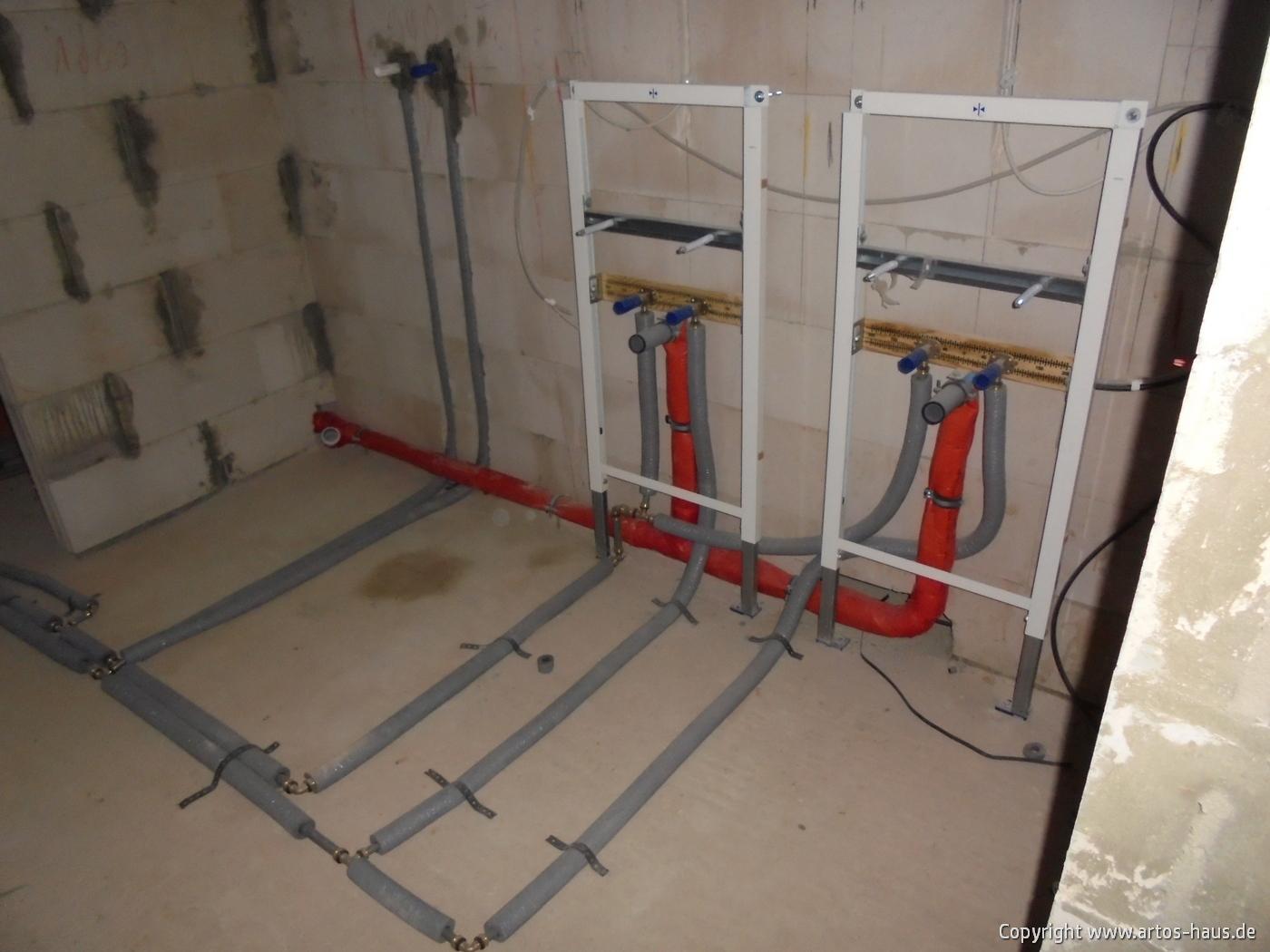 Rohinstallation Sanitär | ARTOS-HAUS Bauvorhaben in BonnBild 3